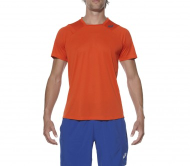 Asics - Athlete Shortsleeve Herren Tennisshirt (orange)
