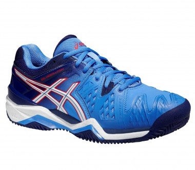 Asics - Gel Resolution 6 Clay Damen Tennisschuh (blau)