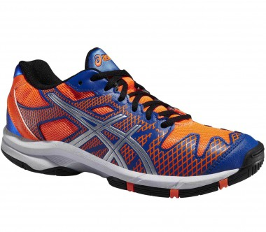 Asics - Gel-Solution Speed 2 GS Junior Tennisschuh (blau/orange)