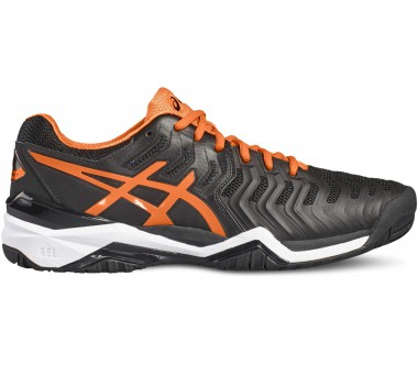 Asics - Gel-Resolution 7 Herren Tennisschuh (schwarz/orange)