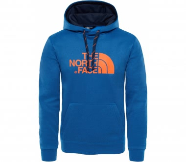 The North Face - Surgent Hoodie Herren Trainingshoodie (hellblau/orange)