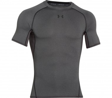 Under Armour - Heatgear Armour Shortsleeve Herren Trainingsshirt (dunkelgrau)