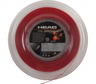 Head - Lynx Tennissaite - 200m (rot)