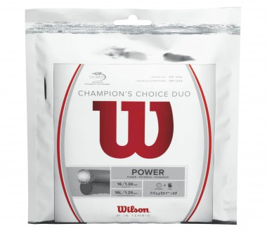 Wilson - Champions Choice Duo - 12,2m Tennissaite