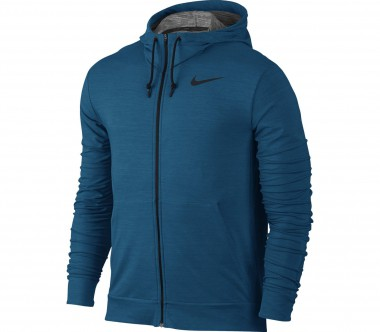 Nike - Dri-Fit Fleece Full-Zip Herren Trainingshoodie (blau)
