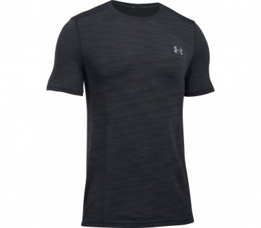 Under Armour - Threadborne Knit Shortsleeve Herren Trainingsshirt (schwarz)