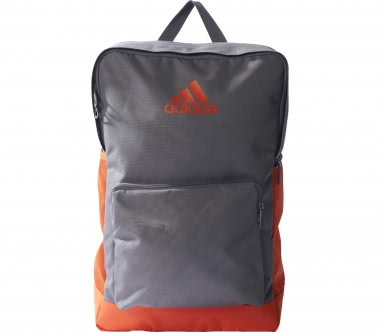 Adidas - 3S Performance Backpack (grau/orange)