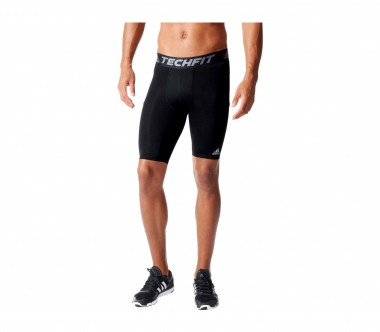 Adidas - Techfit Base Tight Herren Trainingsshort (schwarz)