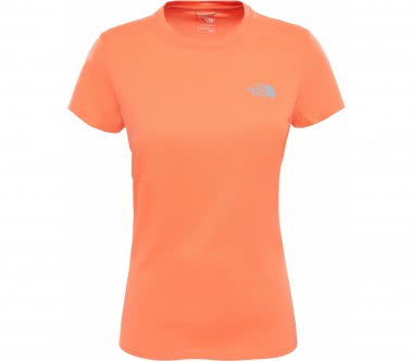 The North Face - Reaxion Amp Crew Damen Trainingsshirt (orange)