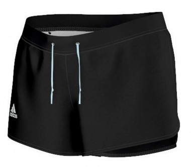Adidas - Sequentials Core Damen Tennisshort (schwarz)