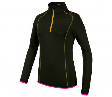 CMP - Carbonium Stretch Damen Fleecepullover (dunkelgrün)
