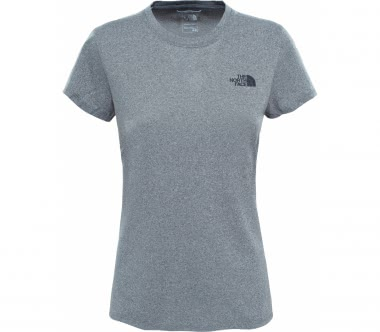 The North Face - Reaxion Amp Crew Damen Trainingsshirt (grau)