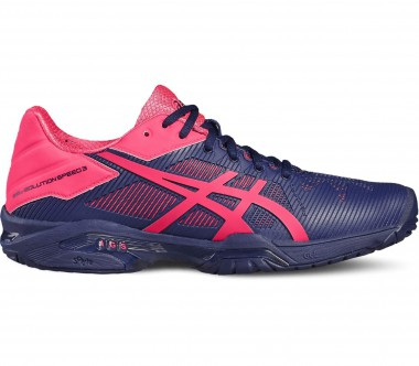 Asics - Gel-Solution Speed 3 Damen Tennisschuh (blau/pink)