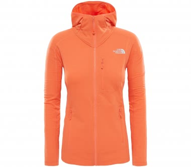 The North Face - Incipent Hooded Damen Powerstretchfleecejacke (orange)