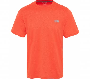 The North Face - Reaxion Amp Crew Herren Trainingsshirt (orange)