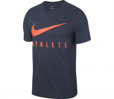 Nike - Dry Training Herren Trainingsshirt (blau/orange)