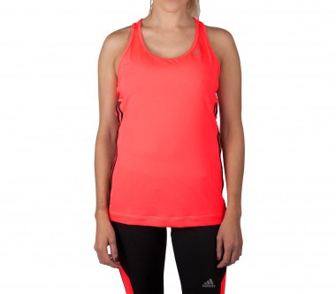 Adidas - Clima 3S Essentials Damen Trainingsshirt (rot)