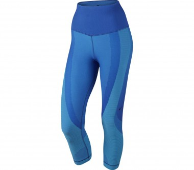 Nike - Zoned Sculpt Damen Trainingscapri (dunkelblau)