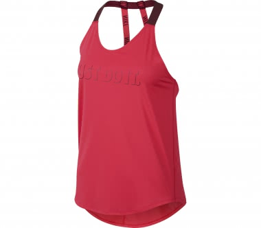 Nike - Breathe Damen Trainingstank (rot)