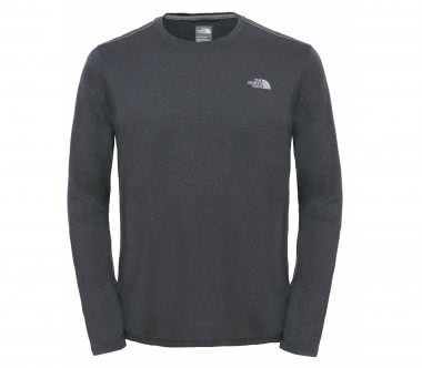 The North Face - Reaxion Amp Longsleeve Crew Herren Trainingsshirt (grau)