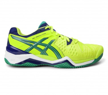Asics - Gel-Resolution 6 Clay Herren Tennisschuh (hellgrün)