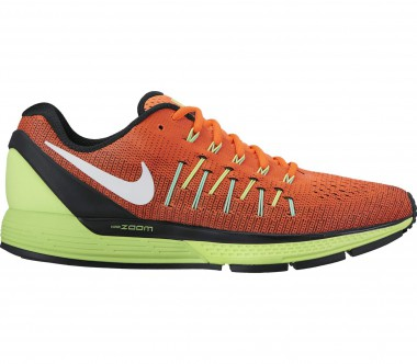 Nike - Air Zoom Odyssey 2 Herren Laufschuh (orange/hellgrün)