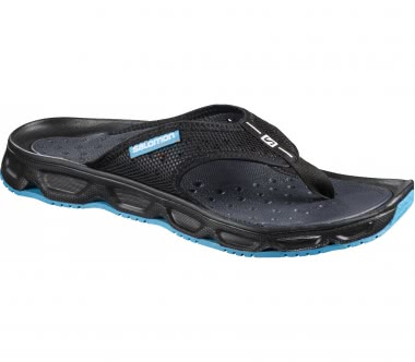 Salomon - RX Break Herren Mountain Lifestyle Sandale (schwarz/hellblau)
