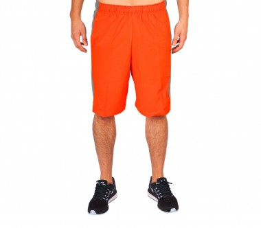 Nike - Hyperspeed Woven Herren Trainingsshort (grau/orange)