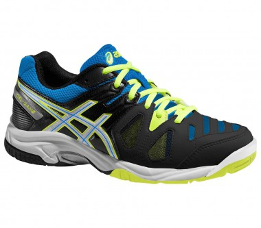 Asics - Gel-Game 5 GS Junior Tennisschuh (blau/schwarz)