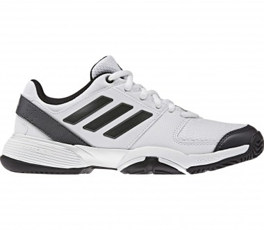 Adidas - Barricade Club Synthetic Junior Tennisschuh (weiß/schwarz)