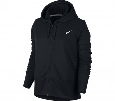 Nike - Dry Full-Zip Damen Trainingshoodie (schwarz)