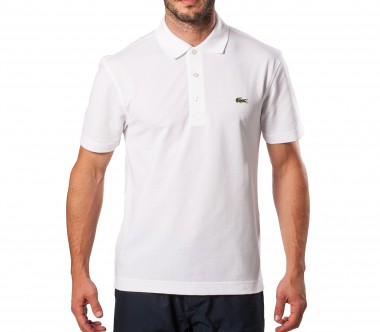 Lacoste - Basic Sports Ultralight Herren Baumwollpolo (wei