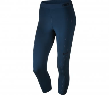 Nike - Pro Capris Damen Trainingstight (blau)