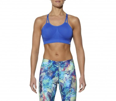 Asics - Seamless Bra Damen Trainings-BH (blau)