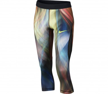 Nike - Pro Hypercool Capri Junior Trainingstight (blau/grün)