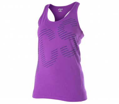 Asics - Graphic Damen Trainingsshirt (violett)