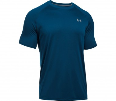 Under Armour - Tech Shortsleeve Herren Trainingsshirt (dunkelblau)