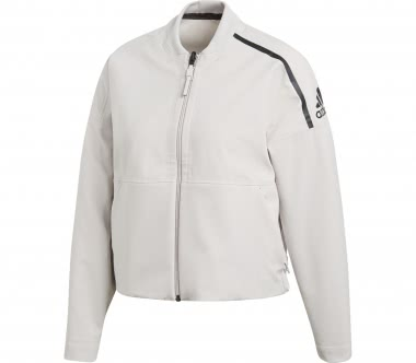 Adidas - ZNE Singled Out Bomber Damen Trainingsjacke (creme)