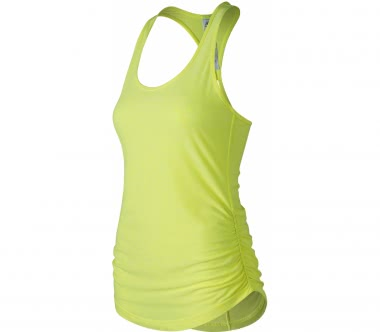 New Balance - Perfect Damen Lauftop (gelb)