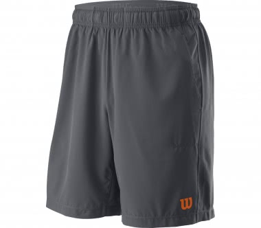 Wilson - UWII Woven 8\'\' Burn Herren Tennisshort (grau/orange)