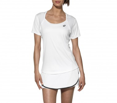 Asics - Club Damen Tennisshirt (weiß)