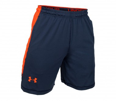 Under Armour - Raid 8 Herren Trainingsshort (grau/orange)
