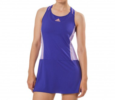 Adidas - Adizero Damen Tenniskleid (blau/orange)