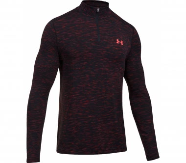 Under Armour - Threadborne Seamless 1/4 Zip Herren Trainingslongsleeve (anthrazit)