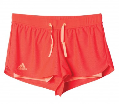 Adidas - Sequentials Core Damen Tennisshort (rot)