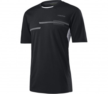 Head - Club Technical Herren Tennisshirt (schwarz)
