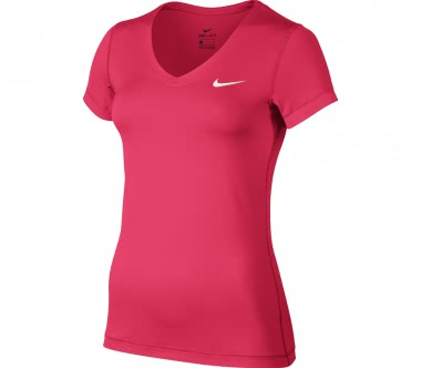 Nike - Victory Base Layer V-Neck Damen Trainingstop (pink)