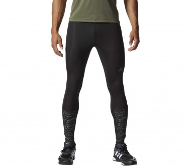 Adidas - Supernova Graphic Tight Herren Laufhose (schwarz)