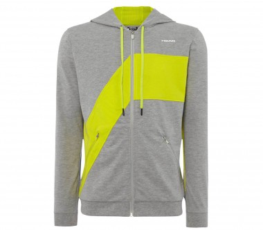 Head - Swift Herren Tennisjacke (grau/grün)