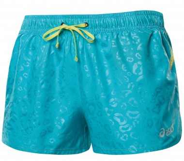 Asics - Ayami Woven Short Damen Trainingshose (blau)